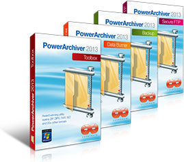 PowerArchiver 2013 Personal & Pro & Toolbox Edition v14.02.03 - ITA
